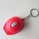 Key Holder Plastic Keyring LED Key Chain