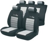 Black and White Color Fit for Vehicles, Cars, SUV Seat Cover