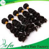 100% Human Hair Silky Raw Material Human Hair Weft