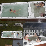 Losing Weight Davey System Hydro Swimming Pool SPA for 7 Person Swim SPA (SR850)