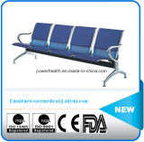 Manufacturer Hot Sale Steel Waiting Chair Five Seat