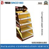 Corrugated Paper Shelves for Display