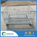 Warehouse Electro Galvanized Stacking Container