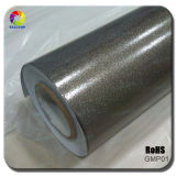 High Quality 1.52*20m Black Glossy Metalic Pearl Car Vinyl