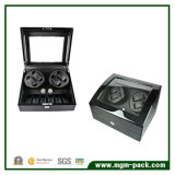 Automatic Rotation Wooden Black 4+6 Watch Winder