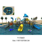 Colorful Funny Playground Water Slides Play Use for Swimming Pool (TY-F06601)