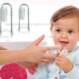 Soft Transparent Silicone Finger Toothbrush for Baby /Kid /Infant