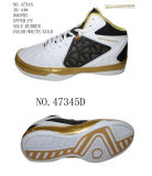 No. 47345 Fitting Men′s Basketball Stock Shoes