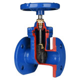 DIN3202 F4 Flanged Resilient Gate Valve, Non Rising Stem