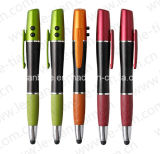 Qualify Plastic Touch Pen with LED and Laser (LT-C558)