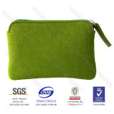 New Disign Ececo-Friendly Latest Simply Felt Coin Purse Clutch
