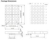 4 Inch 5X7 Single Color LED DOT Matrix