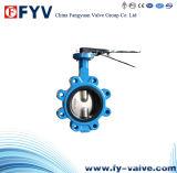 Lug Pinless Center Line Butterfly Valve