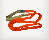 Round Woven Lifting Belt Sling with Different Colors and Widths