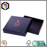 Fancy Raised Red Foil Logo Cardboard Gift Paper Box