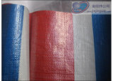 Red Blue White Stripe Tarpaulin