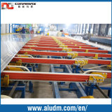 extrusion handling system in aluminum extrusion machine
