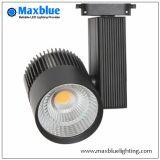 20W/30W/35W/45W White Black Silver CREE COB LED Track Lighting/ LED Track Light