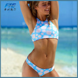 High Neck Fashion Bikini Underwear Set for Women
