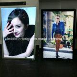 Advertising LED Wall Mounted Aluminum Poster Display Snap Frames