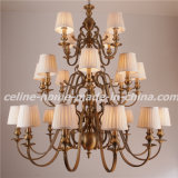 Large Iron Chandelier for Home Hotel Villa Decoration (SL2091-12+8+4)