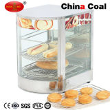 Curved Glass Display Food Warmer