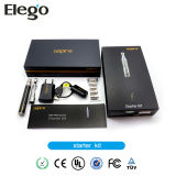 Aspire Starter Kit Electronic Cigarette with 900mAh G-Power Battery& Aspire K1 Atomizer