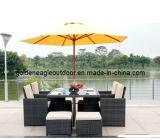 Rattan Wicker Cube Modern Patio Furniture (FP0150)