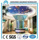 Cylindric Acrylic Aquarium/Fish Tank
