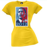 100% Cotton Printing Election Campaign T-Shirt for Promotion