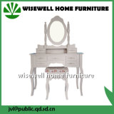 Wooden Dressing Table & Table Set European Style (W-LZ-009)