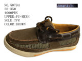 No. 50794 Brown Color Kid's Shoes Casual Shoes 28-35#