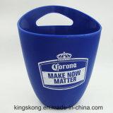 Grona Blue Color Plastic Ice Buckets