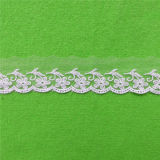 New Voile Embroidery Net Lace Trim (C04)