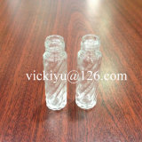 8ml Cylinder Small Glass Bottles for Cosmetics