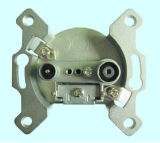 5-1000MHz CATV Wall Socket (SHJ-TWS005)