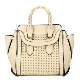 Cute Cream Color Women Tote Bags (MBNO032090)