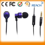 China Manufacturer Earphone 3.5mm Fashion Metal Earphone