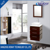 Modern Wall Mounted Wood Hotel Bathroom Furniture with Mirror