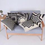 Digital Print Decorative Cushion/Pillow with Geometric Pattern (MX-64)
