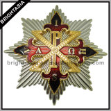 High Quality Hard Enamel Metal Badge for Promotion Gifts (BYH-10710)