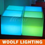 LED Illuminated Insulated Square Ice Bucket