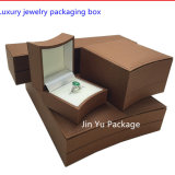 OEM Leather Jewelry Packaging Box with Custom Design