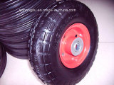 10′′x4.1/3.5-4 Solid Rubber Wheel
