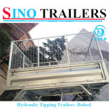 Widely Use Hydraulic Tipping Semi Trailer Made in China