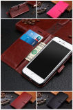 Leather Wallet Case Magnetic Flip Cover Stand