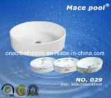 Well Sold Round Bathroom Basin for Hand Washing (029)