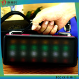 Cubic Wireless Mini Bluetooth Speaker with LED Flash Light