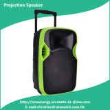 ODM 12 Inches DJ Projection Speaker with Wireless Microphones