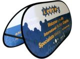 Dye Sublimation Outdoor Advertising a Frame Standing Banner